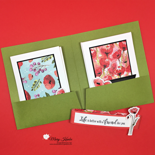 Peaceful Poppies Suite Stampin' Up!