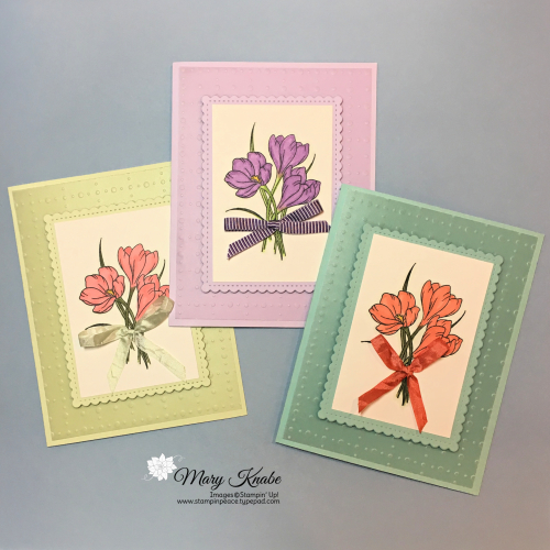 So Very Vellum Specialty DSP, Easter Promise Stamp Set, & Thoughtful Blooms Stamp Set by StampIn' Up!