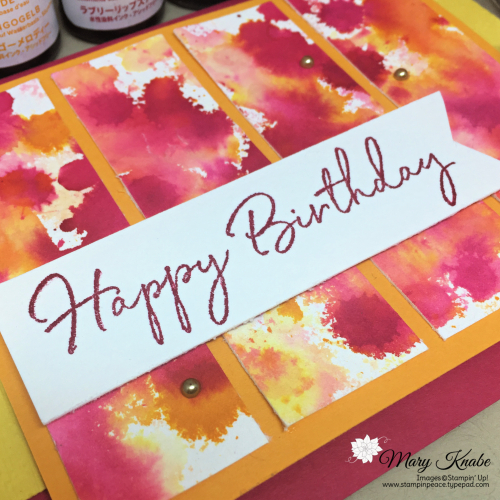 Happy Birthday to You Stamp Set by Stampin' Up!