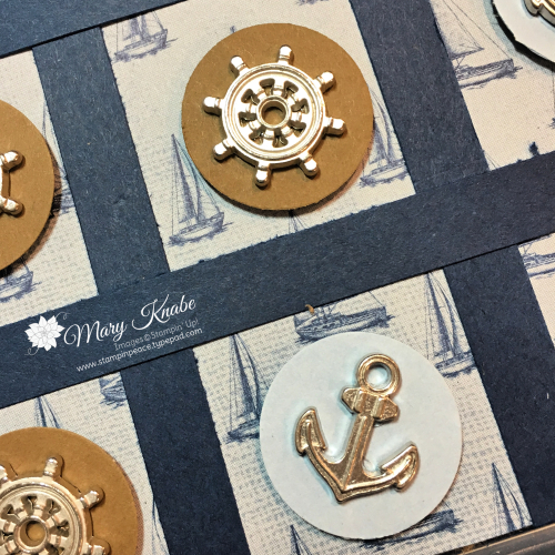 Come Sail Away Designer Series Paper, Come Sail Away Trinkets, &  Full Wide Stamp Case by Stampin' Up!