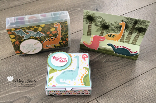 Dino Days Stamp Set, Dino Dies, Dinoroar Designer Series Paper by Stampin' Up!