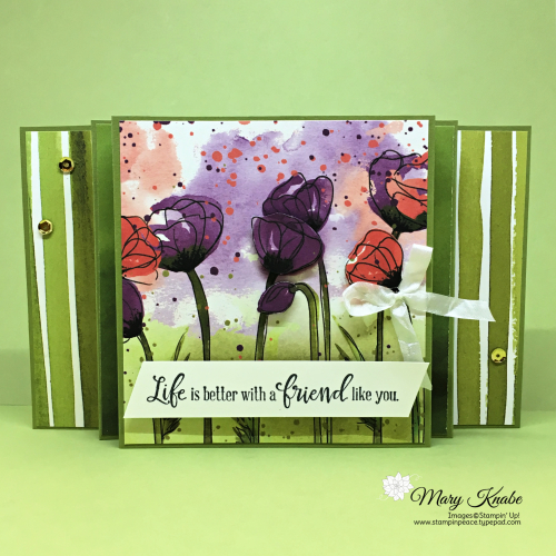 Peaceful Poppies Designer Series Paper & Peaceful Moments Stamp Set