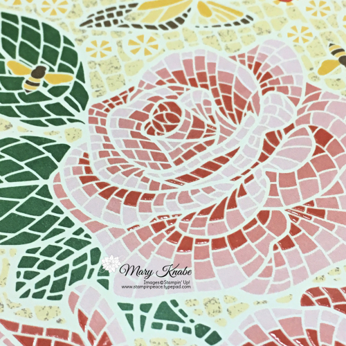 Mosaic Mood Specialty Designer Series Paper by Stampin' Up!