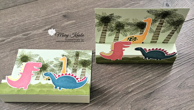 Dino Days Stamp Set, Dino Dies, & Dinoroar Designer Series Paper by Stampin' Up!