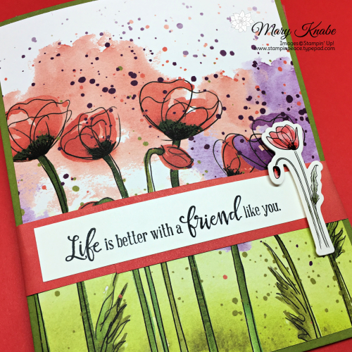 Peaceful Poppies Suite by Stampin' Up!