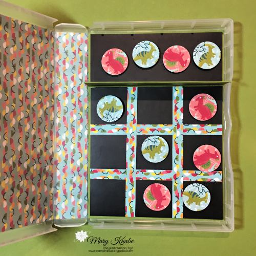 Dinoroar Designer Series Paper, & Full Wide Stamp Case by Stampin' Up!