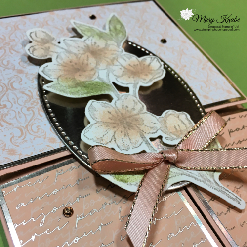 Double Dutch Doors Fun Fold Card with Parisian Blossoms Suite by Stampin' Up!
