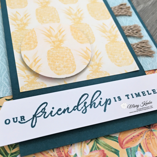 Tropical Oasis Suite & Watercolor Pencils by Stampin' Up!
