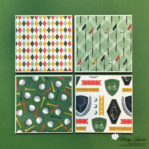 Country Club Designer Series Paper by Stampin' Up!