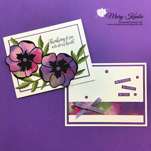 Peaceful Poppies Bundle & Rooted in Nature Stamp Set by Stampin' Up!