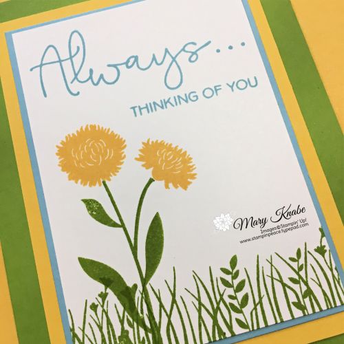 Field of Flowers Stamp Set by Stampin' Up!
