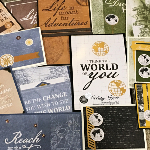 World of Good Memories & More Card Pack by Stampin' Up!