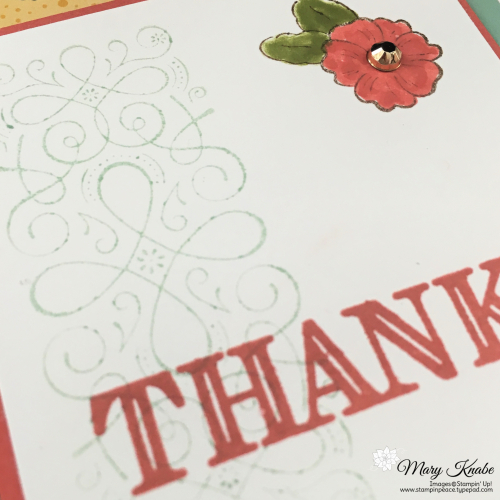 Ornate Style Stamp Set, Ornate Thanks Stamp Set, & Ornate Garden Specialty Designer Series Paper by Stampin' Up!