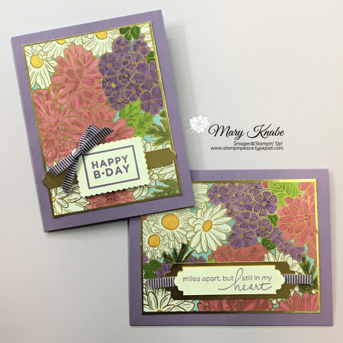 Ornate Garden Specialty Designer Series Paper, Happiest of Birthdays Stamp Set, Rectangular Postage Stamp Punch, Lovely You Stamp Set, & Lovely Labels Pick A Punch by Stampin' Up!