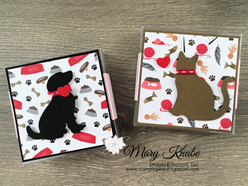 Playful Pets Designer Series Paper, Dog Builder Punch, & Cat Punch by Stampin' Up!