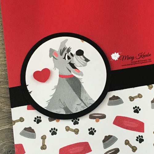 Playful Pets Designer Series Paper by Stampin' Up!