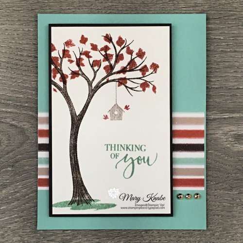 Life is Beautiful Stamp Set & Gilded Autumn Specialty Designer Series Paper by Stampin' Up!