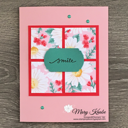 "Flowers for Every Season 6"" x 6"" Designer Series Paper One Sheet Wonder & Lovely You Stamp Set by Stampin' Up!"