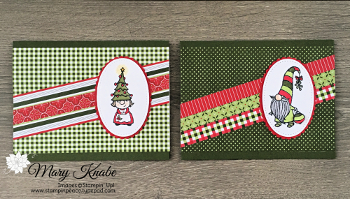 Gnome for the Holidays Stamp Set & Heartwarming Hugs Designer Series Paper from Stampin' Up!