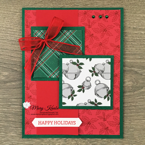 Itty Bitty Stamp Set & 'Tis the Season Designer Series Paper by Stampin' Up!