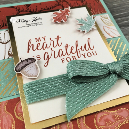 Beautiful Autumn Stamp Set & Gilded Autumn Designer Series Paper by Stampin' Up!