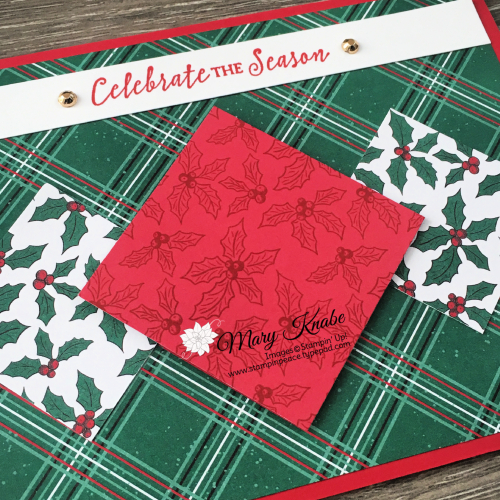 'Tis the Season Designer Series Paper & Itty Bitty Christmas Stamp Set by Stampin' Up!