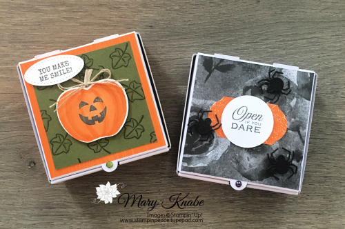 Harvest Hellos, Hallows Night Magic, and Little Treats Stamp Sets by Stampin' Up!