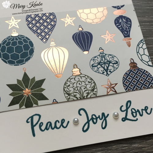 Brightly Gleaming Specialty Designer Series Paper & Dove of Hope Stamp Set by Stampin' Up!