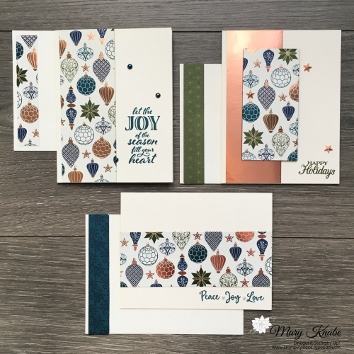 Brightly Gleaming Specialty Designer Series Paper, Wrapped in Christmas Stamp Set, Poinsettia Petals Stamp Set & Dove of Hope Stamp Set by Stampin' Up!