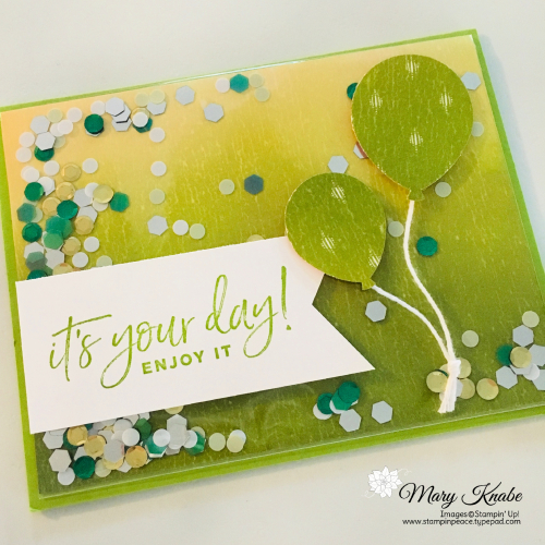 Happiest of Birthdays Stamp Set, Banner Triple Punch, & Balloon Bouquet Punch by Stampin' Up!