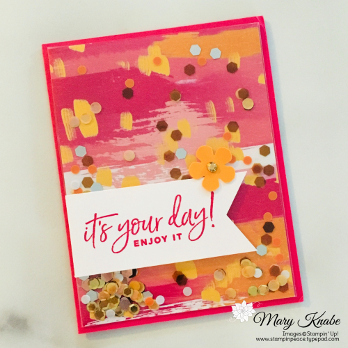 Happiest of Birthdays, Banner Triple Punch, & Small Bloom Punch by Stampin' Up!