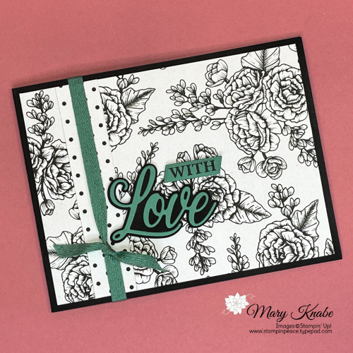 Forever & Always Bundle and True Love Designer Series Paper by Stampin' Up!