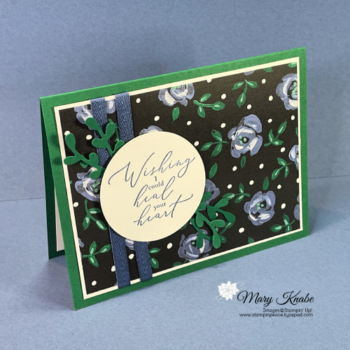 Heal Your Heart Stamp Set and Flower & Field Designer Series Paper by Stampin' Up!