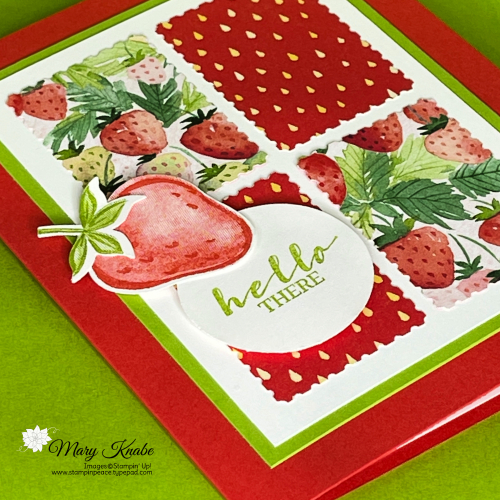 Sweet Strawberry Bundle & Berry Delightful Designer Series Paper by Stampin' Up!