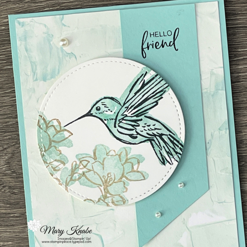 A Touch of Ink Stamp Set & Fine Art Floral Designer Series Paper by Stampin' Up!
