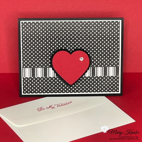 True Love Designer Series Paper, Always in My Heart Bundle, & Heart Punch Pack by Stampin' Up!