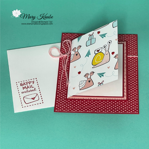 Snailed It Bundle & Snail Mail Designer Series Paper by Stampin' Up!