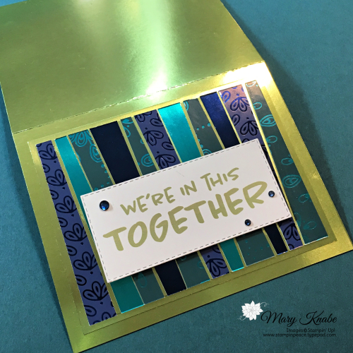 Noble Peacock Specialty Designer Series Paper & Foil Sheets by Stampin' Up!