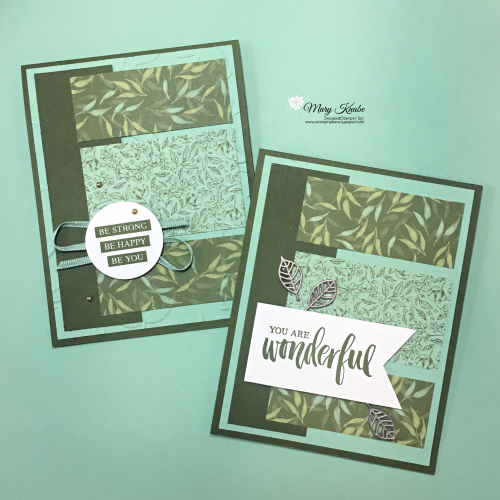Rooted in Nature Stamp Set & Garden Lane Designer Series Paper by Stampin' Up!