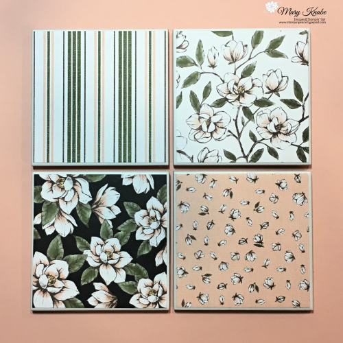 Magnolia Lane Designer Series Paper by Stampin' Up!