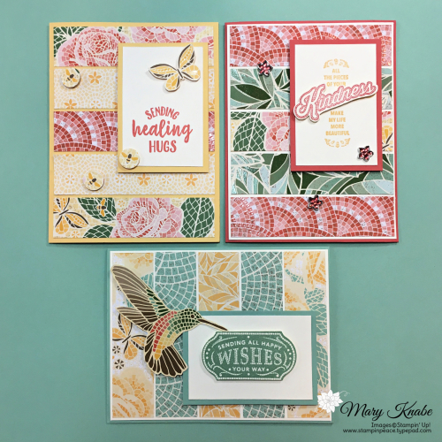 So Sentimental Stamp Set, Memorable Mosaic Stamp Set, and Mosaic Mood Designer Series by Stampin' Up!