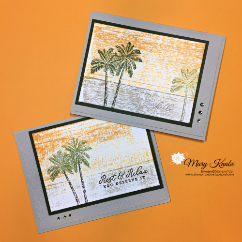 Timeless Tropical Stamp Set by Stampin' Up!