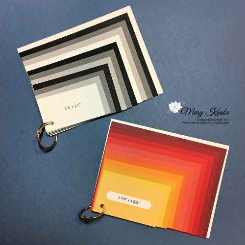 Card Layering Reference Tools by Mary Knabe