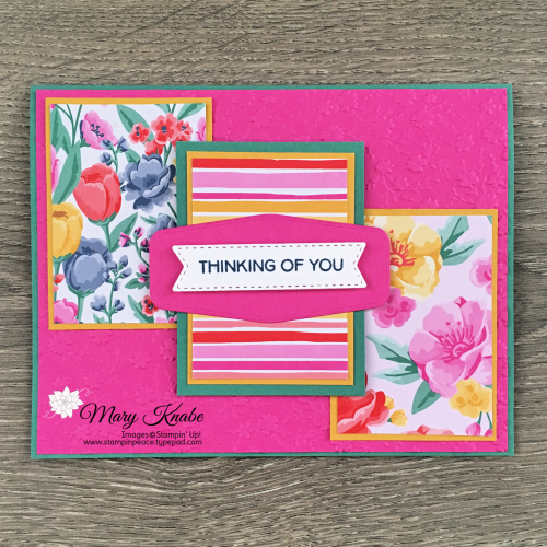 Flowers for Every Season Designer Series Paper & 2020-2022 In Colors by Stampin' Up!