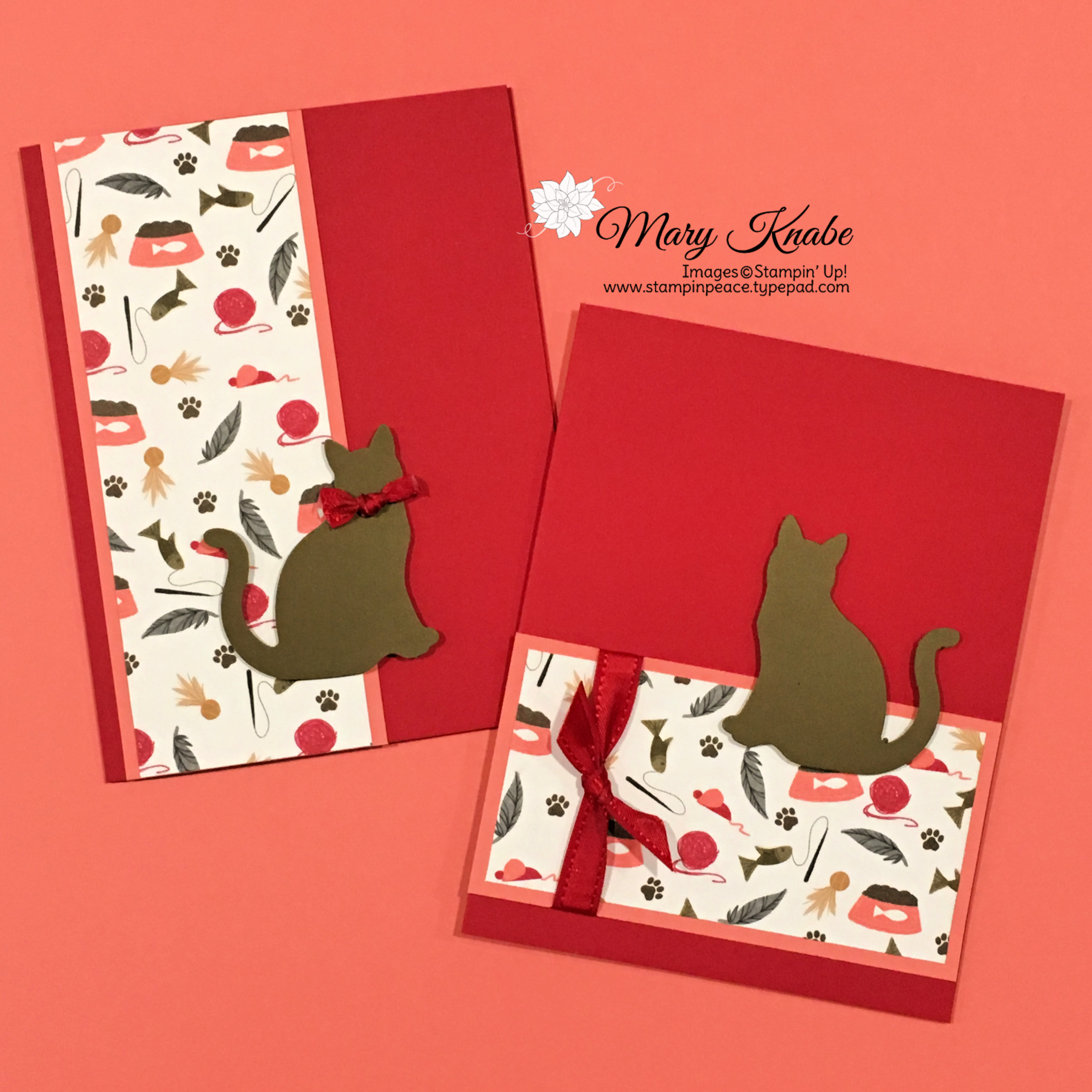 MORE CARDSTOCK Stampin/' Up PLAYFUL PETS DSP Card KIT 12 Sheets 6 X 6