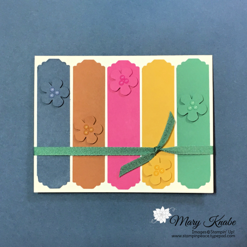2020-2022 In Colors & Lovely Label Pick A Punch by Stampin' Up!