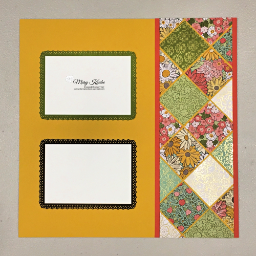 Ornate Garden Specialty Designer Series Paper & Ornate Frames Dies by Stampin' Up!