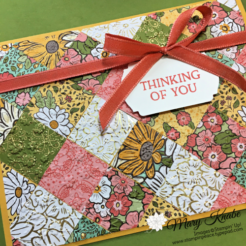 Ornate Garden Specialty Designer Series Paper by Stampin' Up!