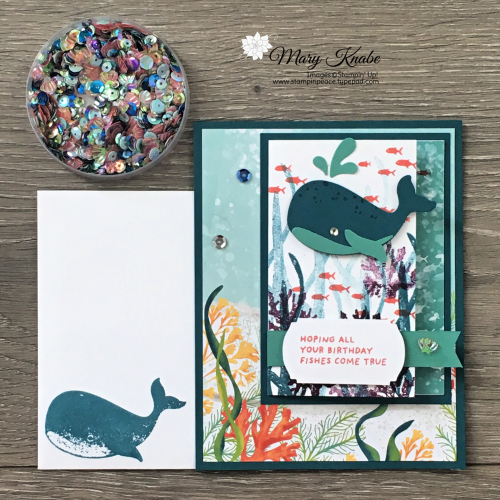 Whale Done Bundle by Stampin' Up!