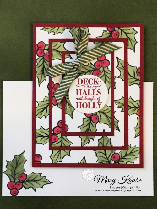 Christmas Gleaming Stamp Set by Stampin' Up!